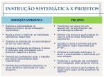 instru o sistem tica x projetos