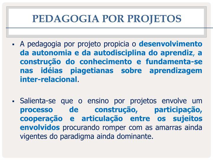 Pedagogia por projetos