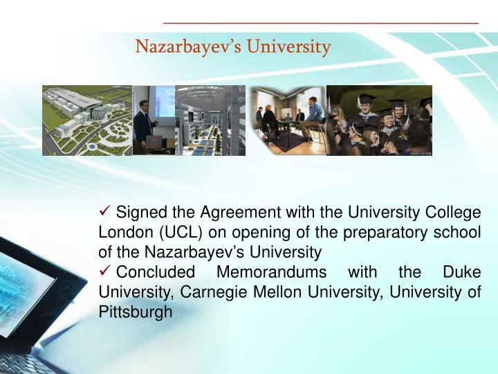 Nazarbayev's University