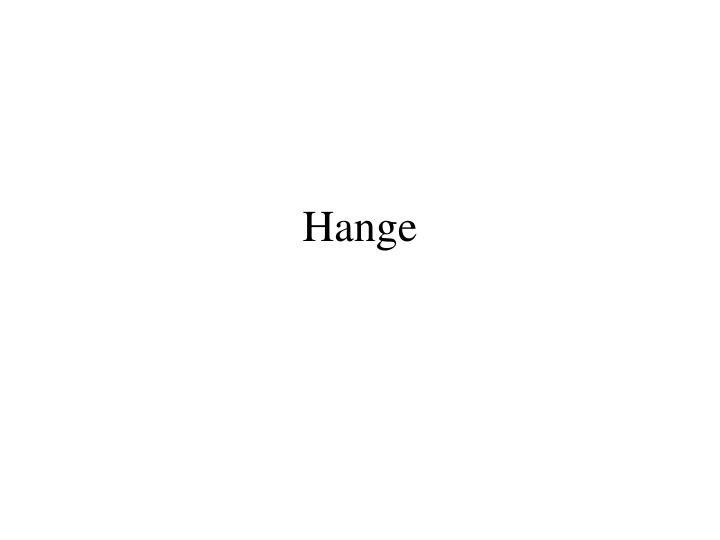 Hange