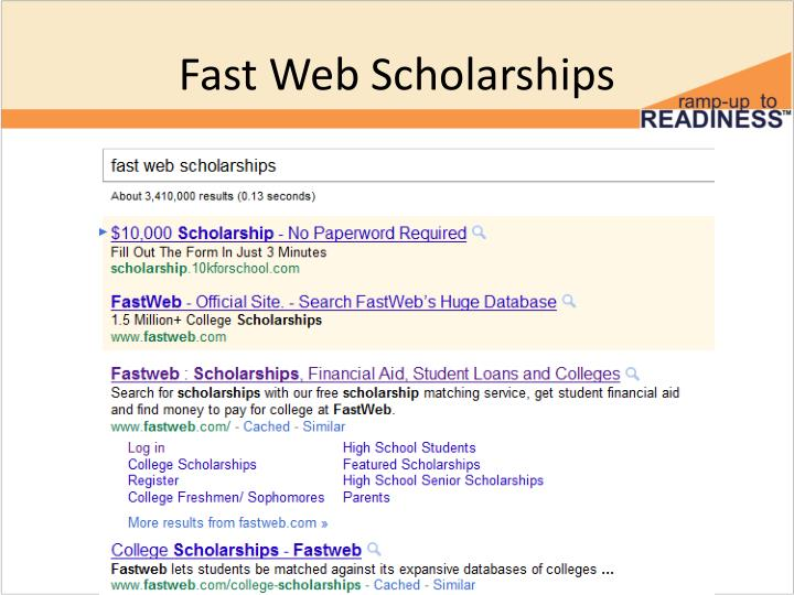 Fastweb Scholarships Financial Aid Student Loans and - oukas info