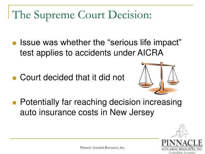 The Supreme Court Decision: