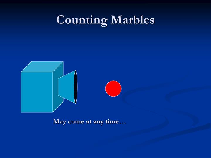 Counting Marbles