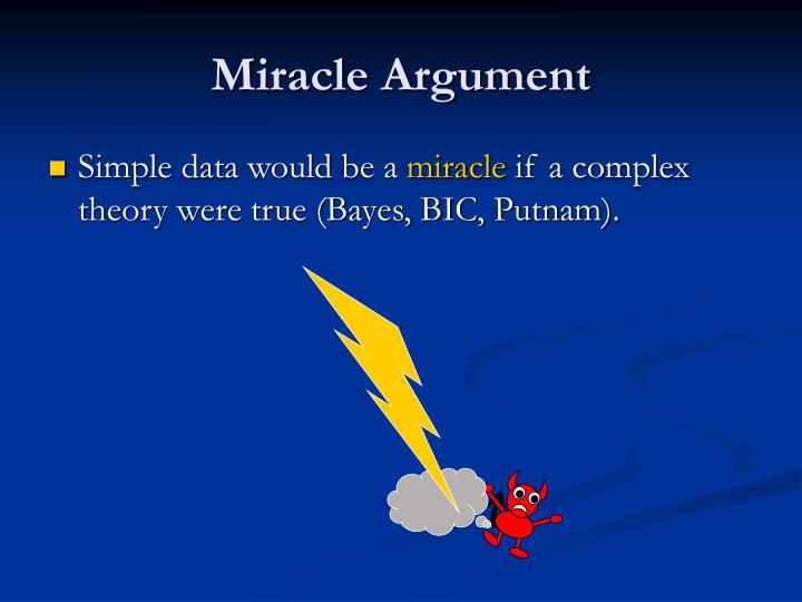 Miracle Argument