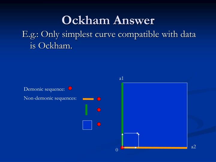 Ockham Answer