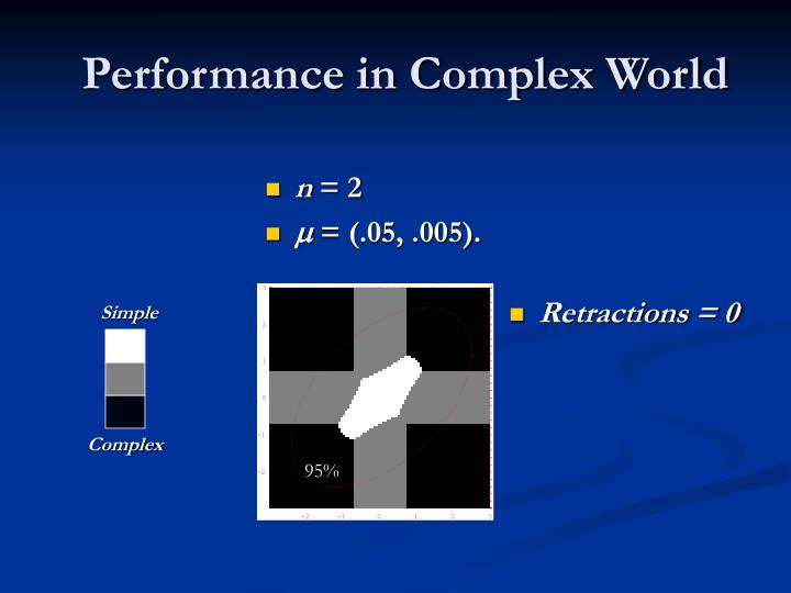 Performance in Complex World