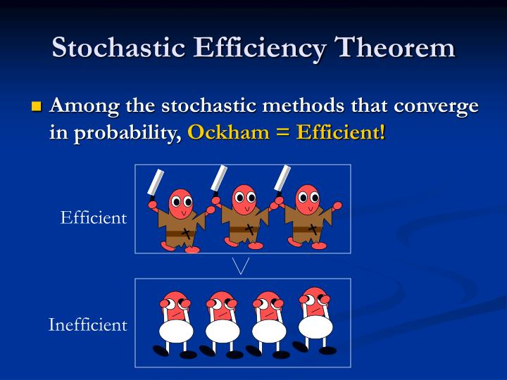 Stochastic Efficiency Theorem