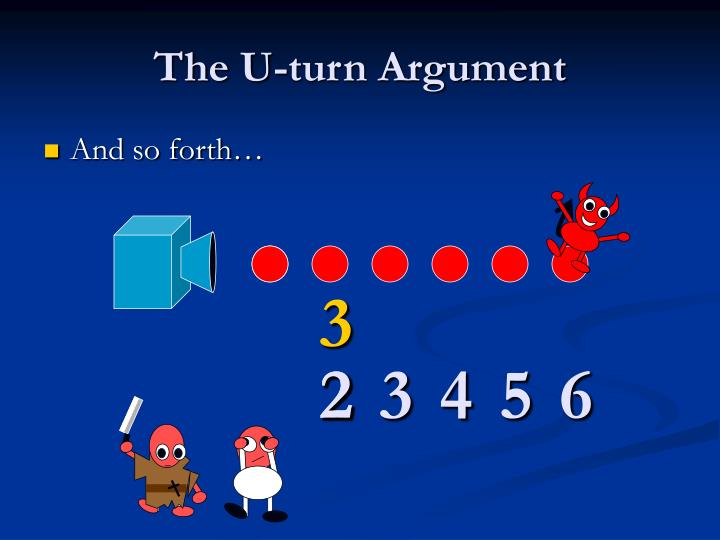 The U-turn Argument
