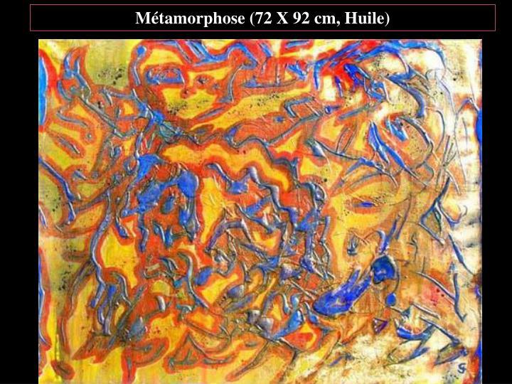 Métamorphose (72 X 92 cm, Huile)