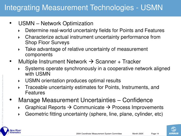 Integrating Measurement Technologies - USMN