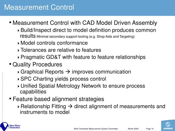 Measurement Control