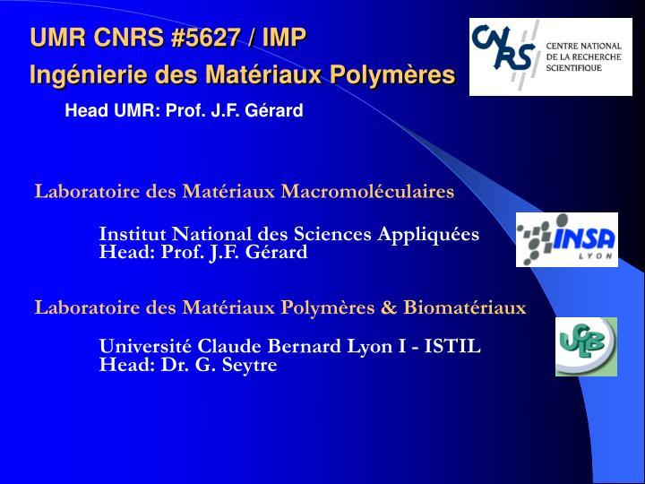 Laboratoire des Matériaux Macromoléculaires