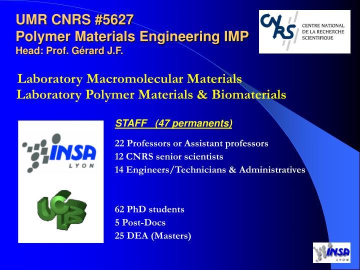 Laboratory Macromolecular Materials