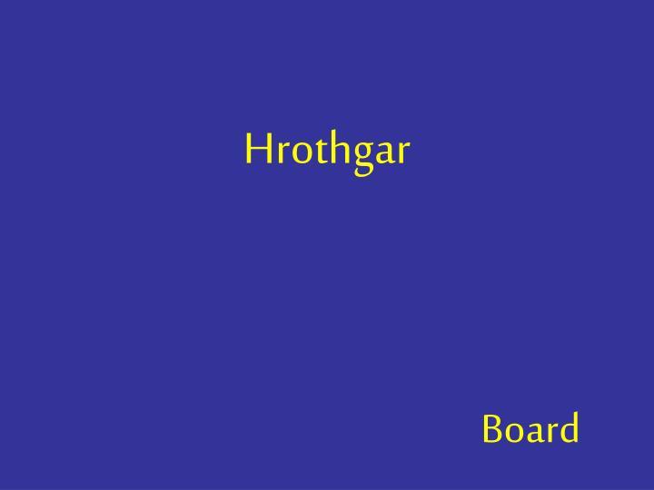 Hrothgar