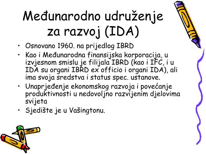 Međunarodno udruženje za razvoj (IDA)