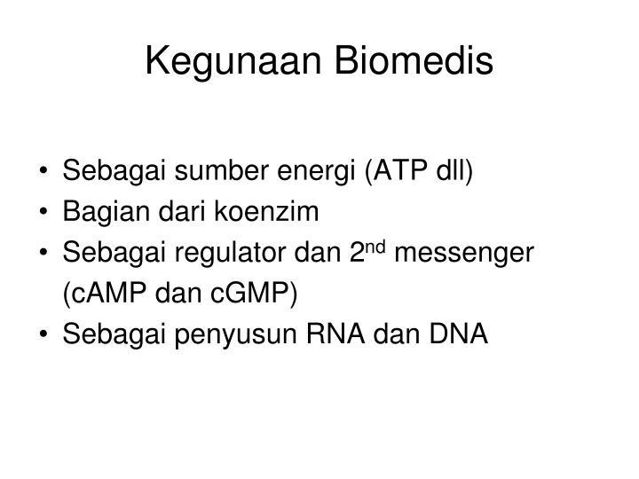 Kegunaan Biomedis