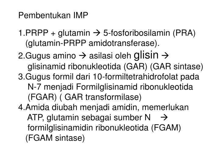 Pembentukan IMP