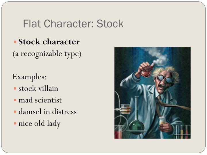 Flat Character: Stock
