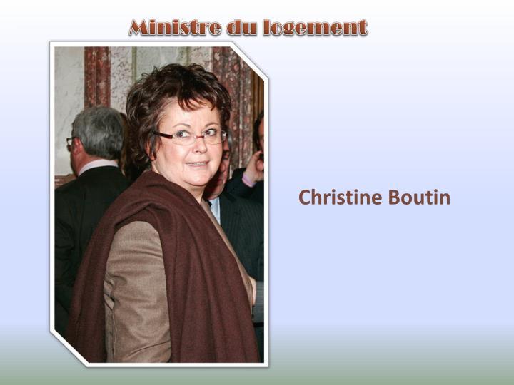 Ministre du