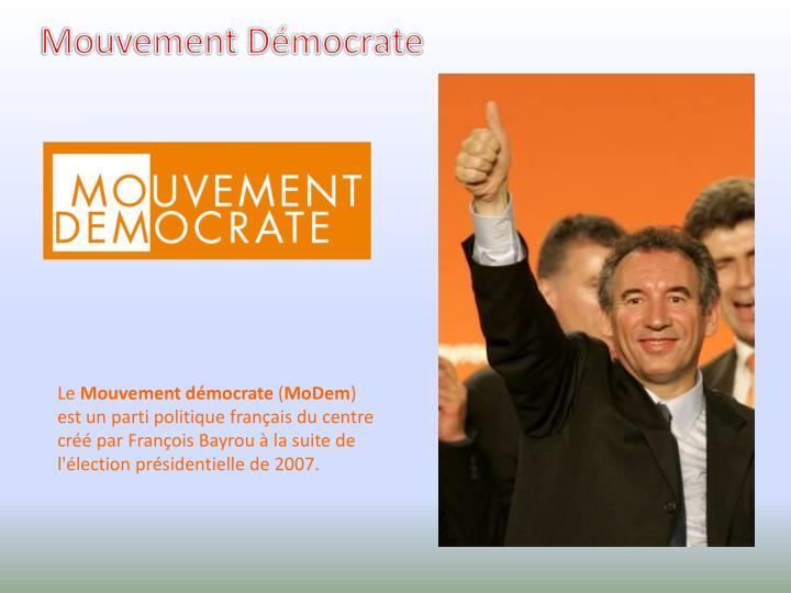 Mouvement Démocrate