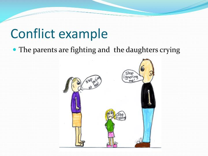 Conflict example