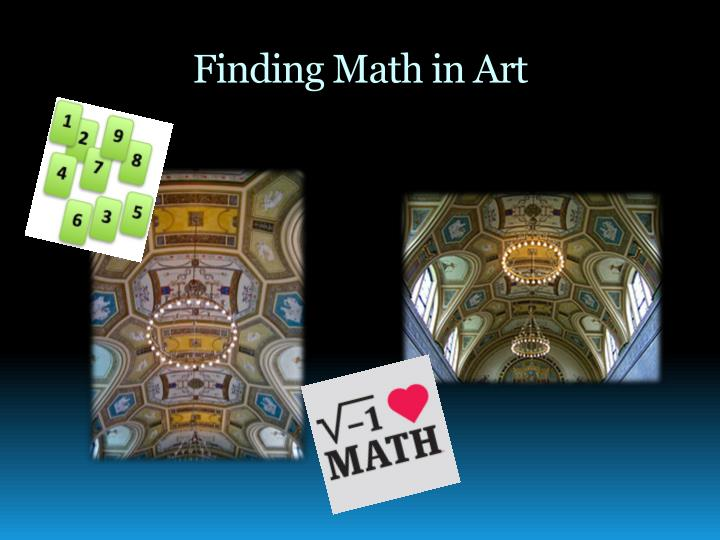 Finding math in art
