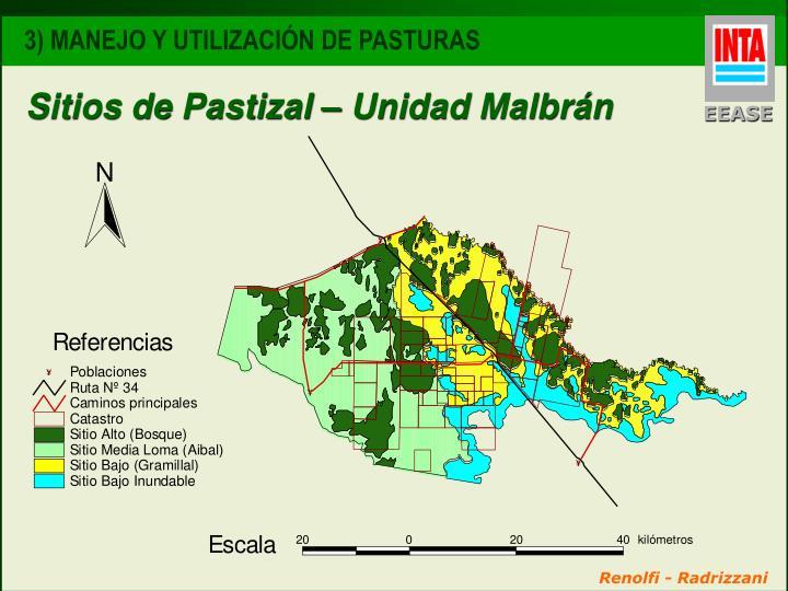 Sitios de Pastizal – Unidad Malbrán