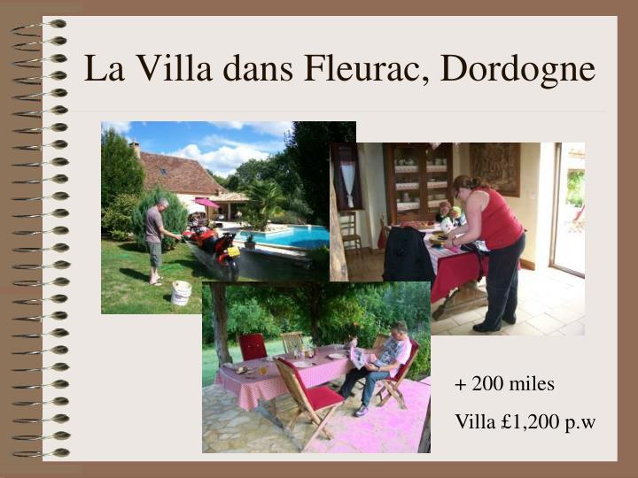 La Villa dans Fleurac, Dordogne
