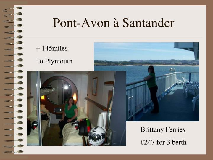 Pont-Avon à Santander