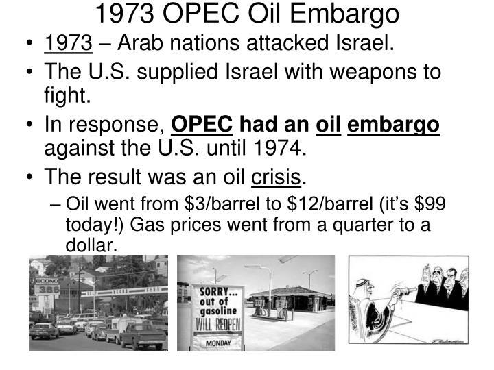 1973 OPEC Oil Embargo