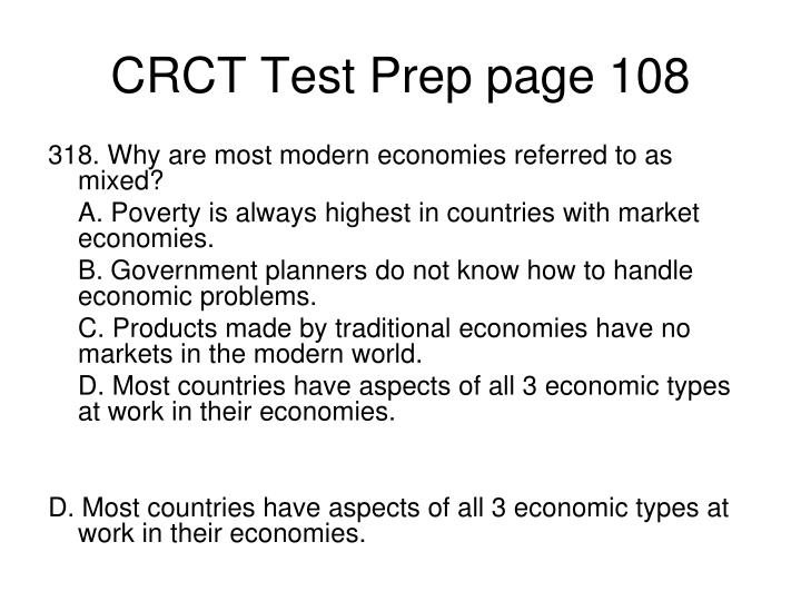 CRCT Test Prep page 108