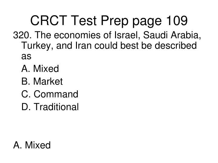 CRCT Test Prep page 109