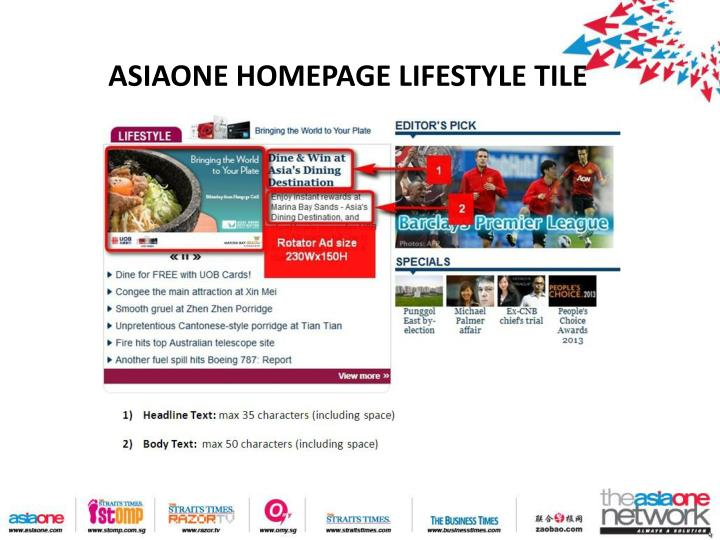 ASIAONE HOMEPAGE LIFESTYLE TILE
