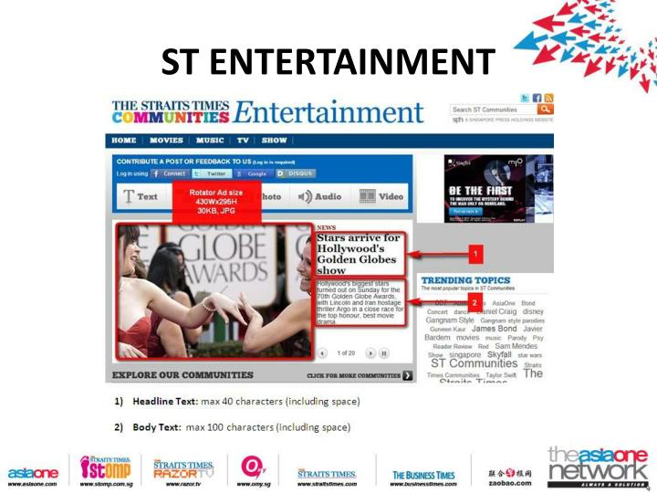 ST ENTERTAINMENT