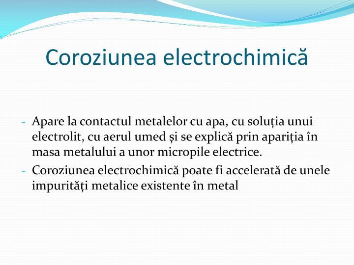 Coroziunea electrochimică
