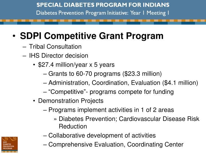 SDPI Competitive Grant Program