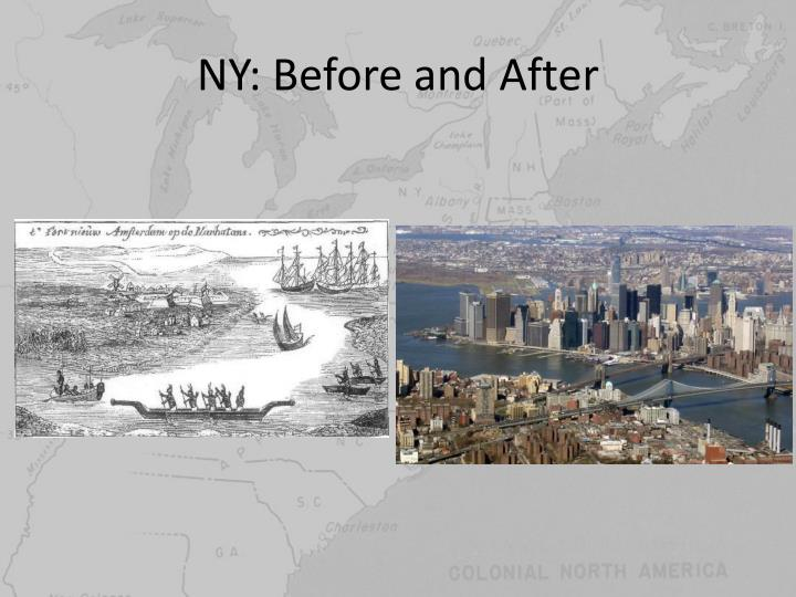 NY: Before and After