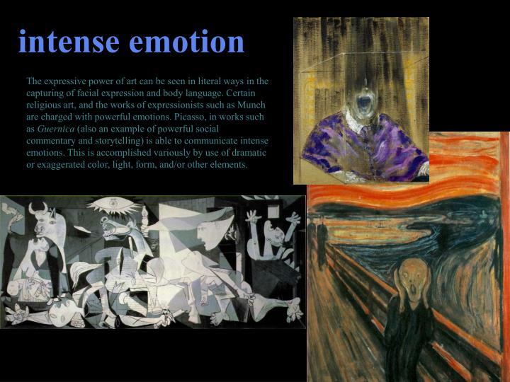 intense emotion