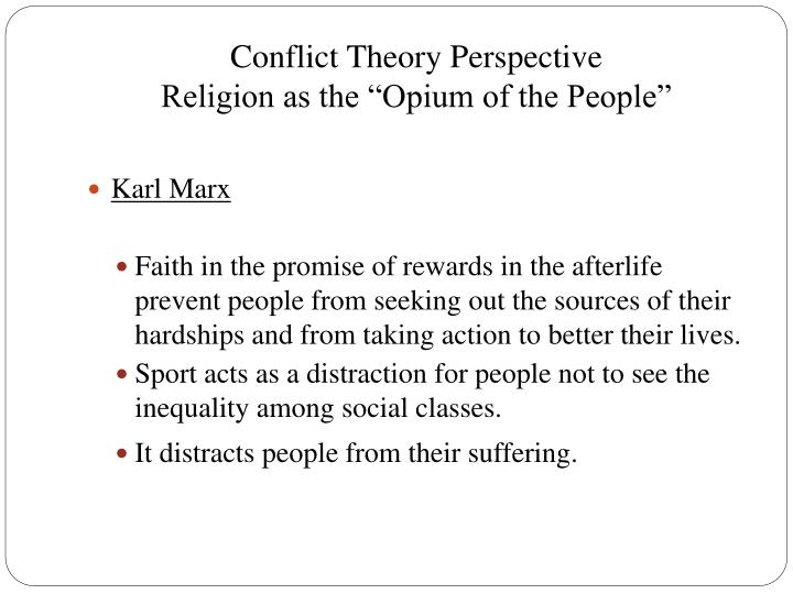 Conflict Theory Perspective