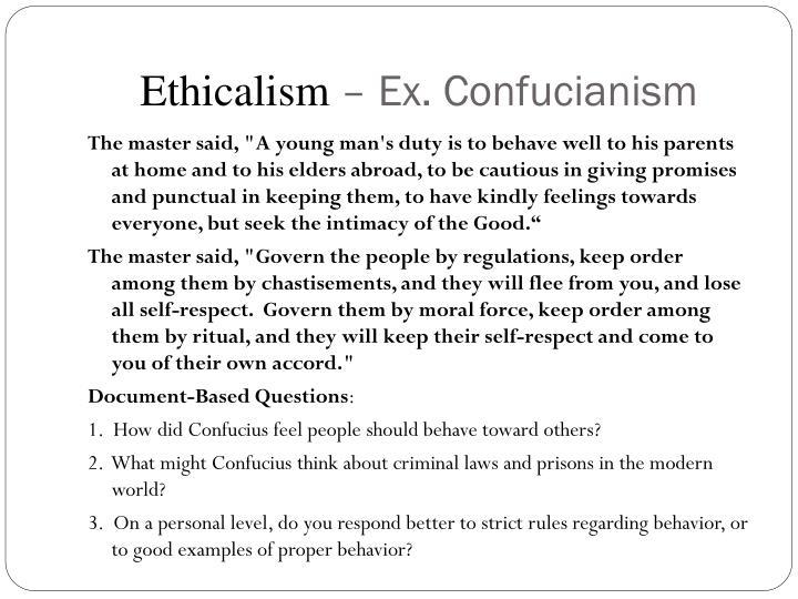 Ethicalism