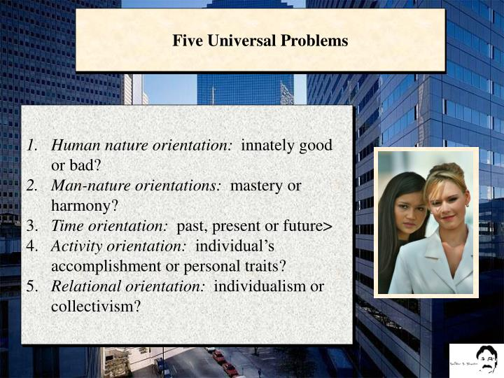Five Universal Problems