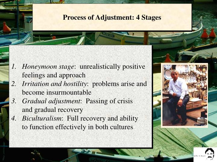 Process of Adjustment: 4 Stages