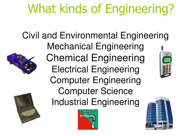 What kinds of Engineering?