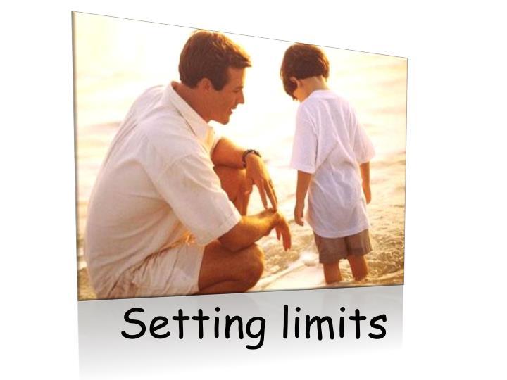 Setting limits