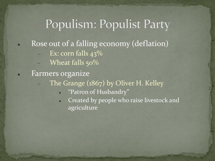 Populism: Populist Party