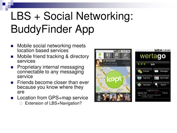LBS + Social Networking: