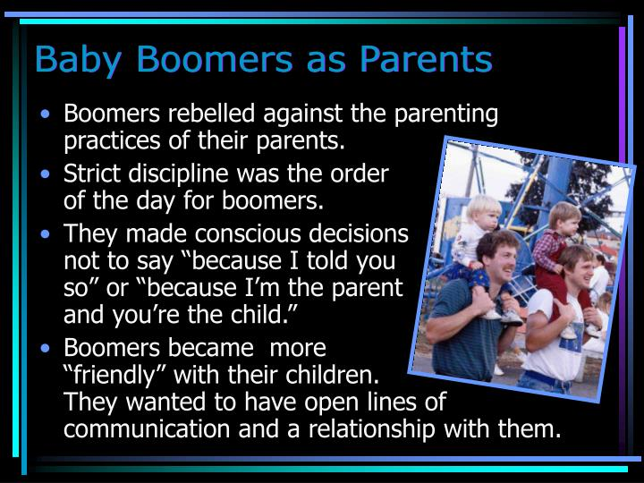 Baby Boomers as Parents