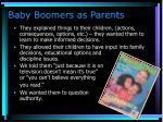 baby boomers as parents1