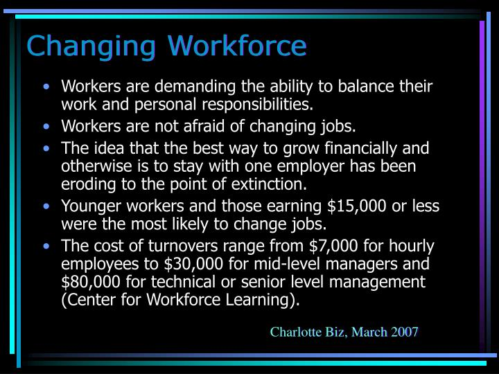 Changing Workforce