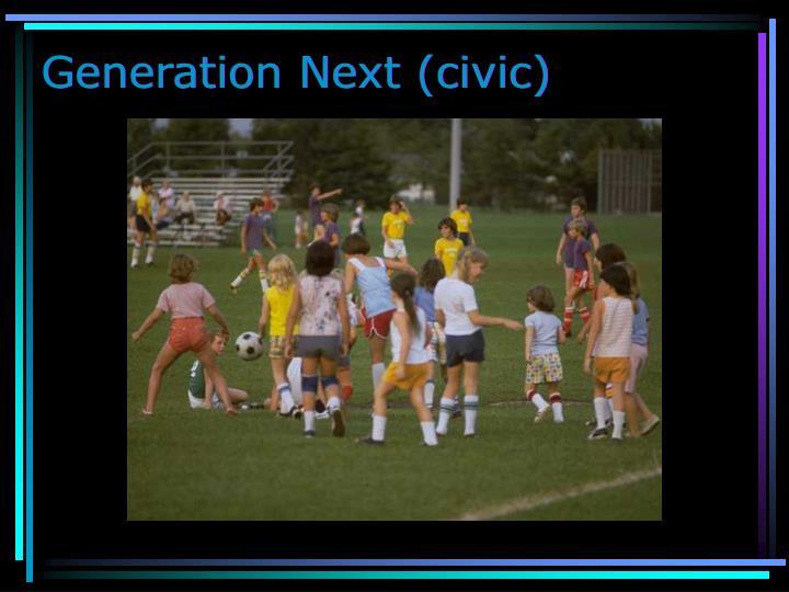 Generation Next (civic)